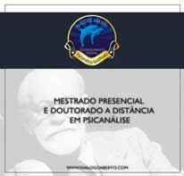 Mestrado Presencial e Doutorado a Distância em Psicanálise