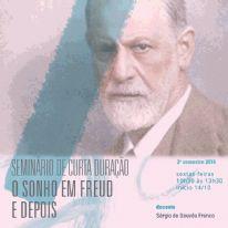 Seminário de Curta Duração: O sonho em Freud e depois