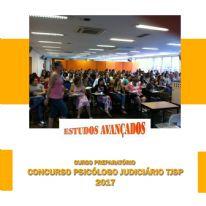 Curso preparatório concurso psicólogo judiciário TJSP, 2017