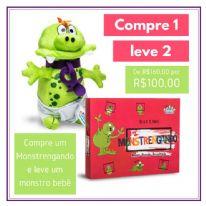 Jogo Terapêutico Infantil Monstrengando - Combo Especial - Compre 1 Leve 2
